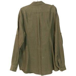 J.L Powell Shirts - J.L Powell 100% Linen XXL Button Down Shirt